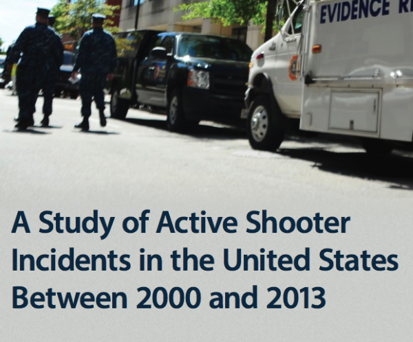 The FBI 'Active Shooter Incidents' Study. Be TMI Prepared.